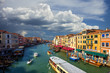 view of Grand Canal. Venice. Italy.