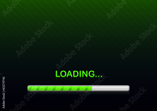 loading background