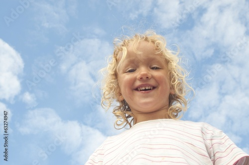 canvas print picture himmel
