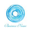 aqua blue vortex