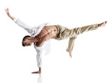 Fototapety Caucasian male dancer
