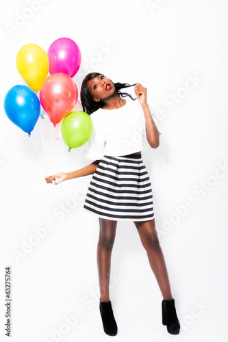canvas print picture balloons