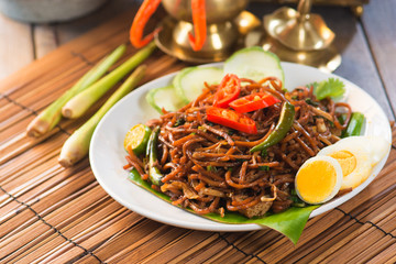 Chicken chow mein a popular oriental dish available at chinese r
