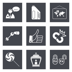Icons for Web Design set 35