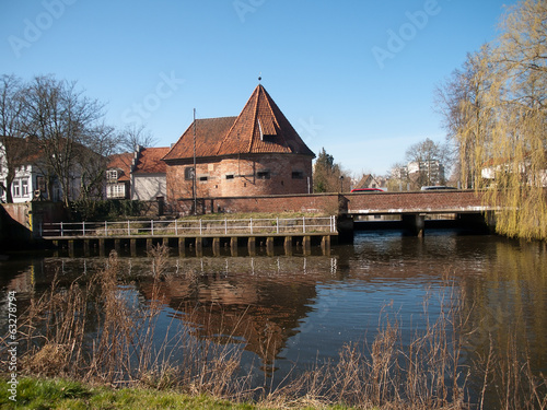 Marschtor ward -old fortifications in Buxtehude