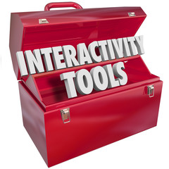 Interactive Tools Words in 3d Letters Toolbox Working Together