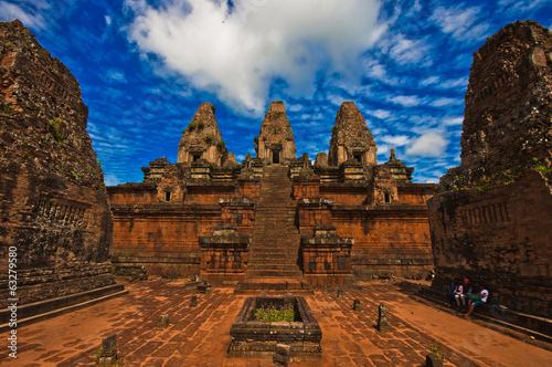 Ancient Pre Rup Temple in Angkor, Cambodia