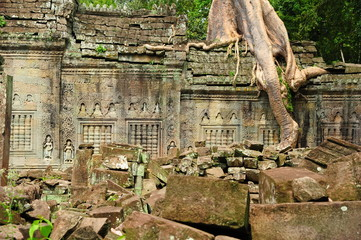 Ruin of Angkor Temple, Cambodia