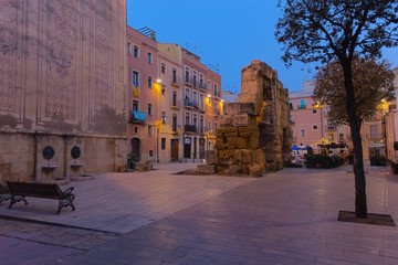 Tarragona in Spain, early one morning