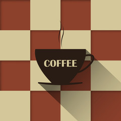 Coffee vintage  background