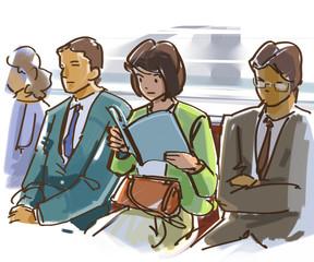 study in the train