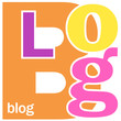 """Mosaïque de Lettres """"BLOG"""" (web internet réseaux sociaux médias)"""