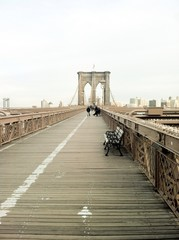 Puente de Brooklyn, Manhattan, New York
