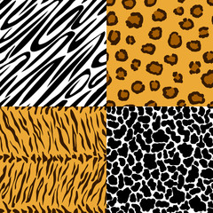 Seamless texture of animal skin