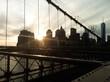 Atardecer en Manhattan desde el Puente de Brooklyn