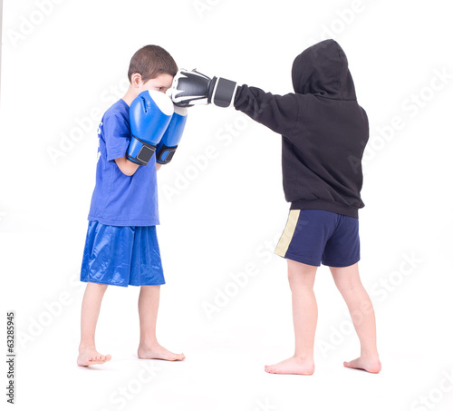 Kickboxing fight