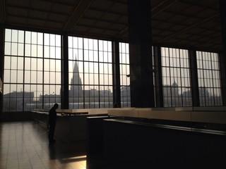 Wien Westbahnhof in the morning