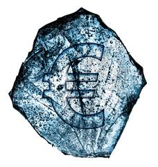 frozen euro symbol
