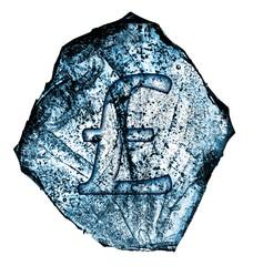 frozen pound symbol