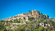 Eze old Village in Alpes-Maritimes in France.