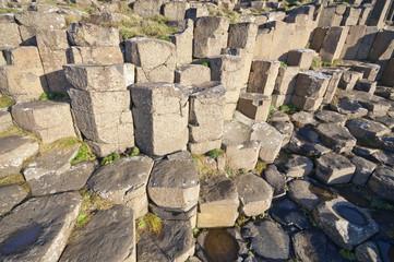 Hexa-shape rocks
