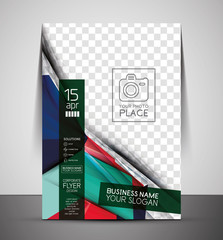 CMYK Business Corporate Flyer Template