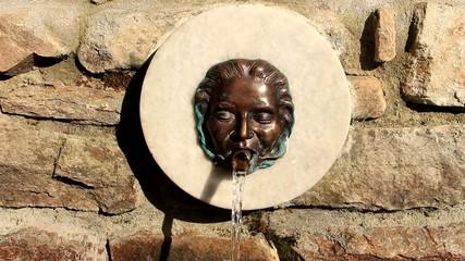 small water cascade