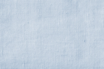 Natural Light Blue Flax Fibre Linen Texture Detailed Closeup