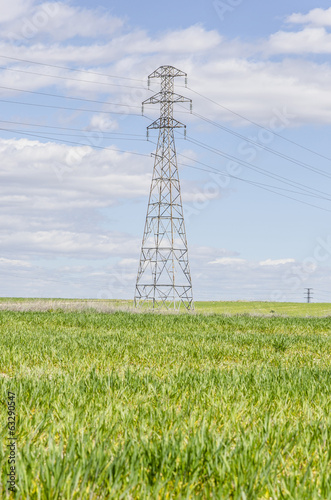 Electricity tower High voltage