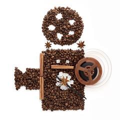 Coffee cinema.
