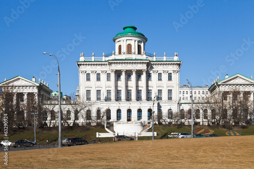 front view of Pashkov House in Moscow
