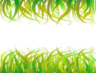 fond d'herbes