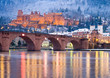 Heidelberger Schloss im Winter - 63292561