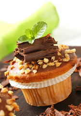 Hazelnut muffin
