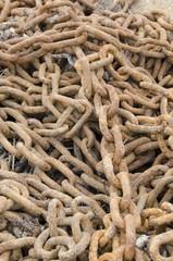 Rusty Chain Links
