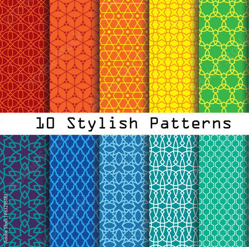 stylish pattern collection