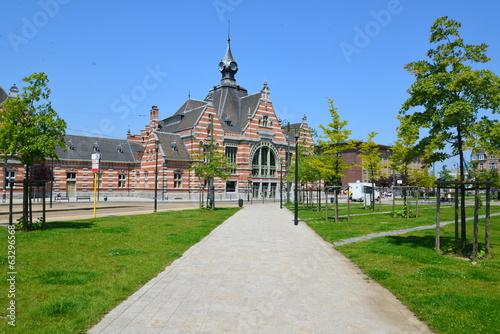 Chemin vers la gare de Schaerbeek