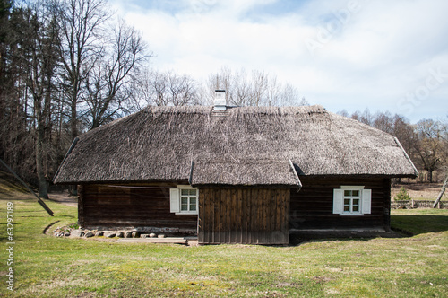 Old traditional village house