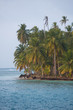 Beautiful paradise island, San Blas