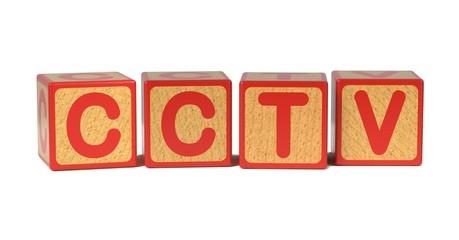 CCTV - Colored Childrens Alphabet Blocks.