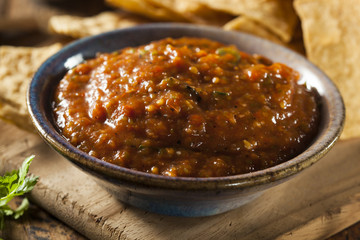 Organic Red Spicy Salsa
