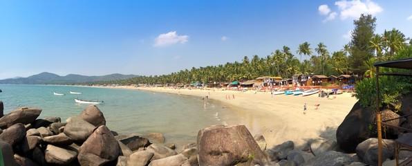 beach Palolem. Goa