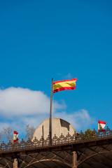Bandera Española Al Viento