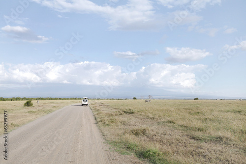 Safari game drive in Ol Pejeta Conservancy