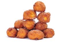 Bunuelos de Viento, typowe wypieki z Hiszpanii, jedzone w Wielki Post