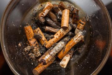 Cigarette butts - anti-smoke