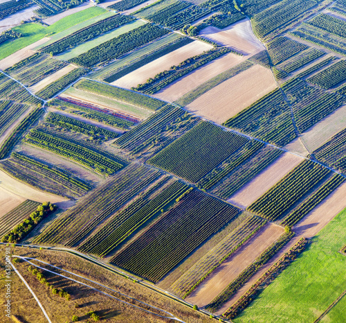 aerial of rural landscape,  Hamburg