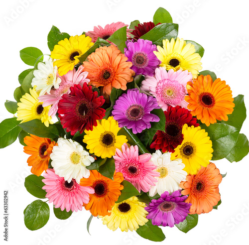 Bouquet of gerberas