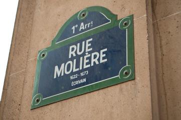 Rue Molière à Paris