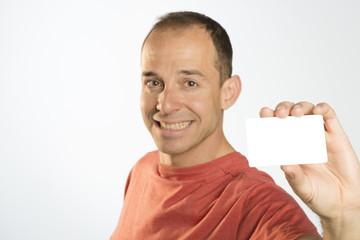 Hombre tarjeta 2